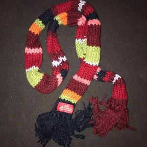 Abercrombie skinny multi colored scarf